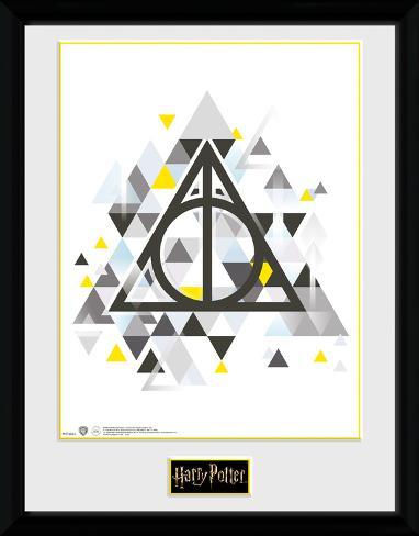 Harry Potter - Deathly Pixels Collector Print