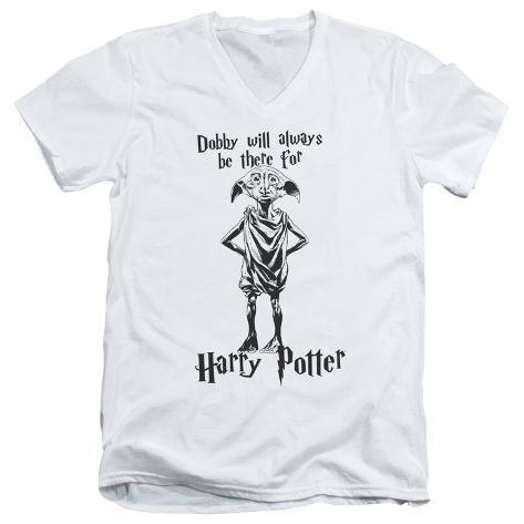 Harry Potter- Dobby Will Always Be There V-Neck V-Necks