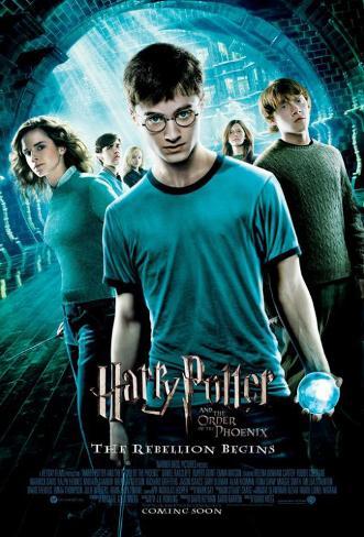 Harry Potter e l'ordine della fenice Stampa master
