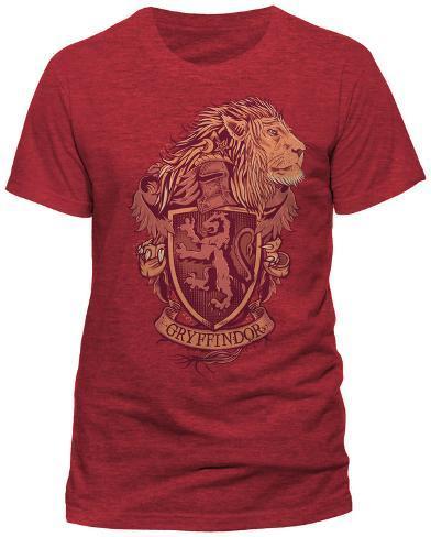 Harry Potter- Gryffindor Coat Of Arms T-Shirt
