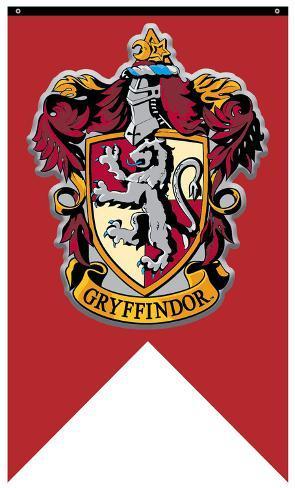 Captivating Harry Potter  Gryffindor Crest Banner