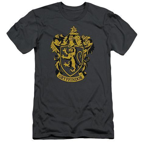 Harry Potter- Gryffindor Crest Slim Fit T-Shirt