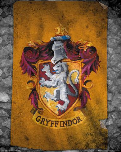 Harry Potter- Gryffindor Flag Mini Poster