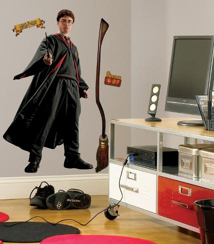 Harry Potter - Harry Potter Peel & Stick Giant Wall Decal Wall Decal