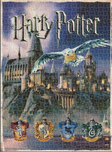 Harry Potter Hogwarts 1000 Piece Puzzle Jigsaw Puzzle