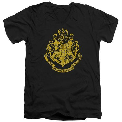 Harry Potter- Hogwarts Crest V-Neck V-Necks