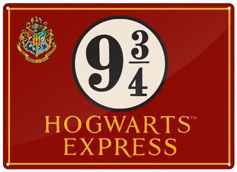 Harry Potter - Hogwarts Express Tin Sign