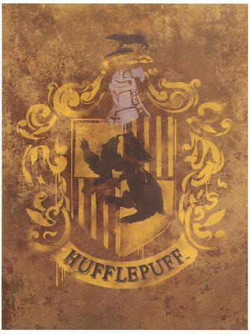 Harry Potter (Hufflepuff Crest) Movie Poster Masterprint