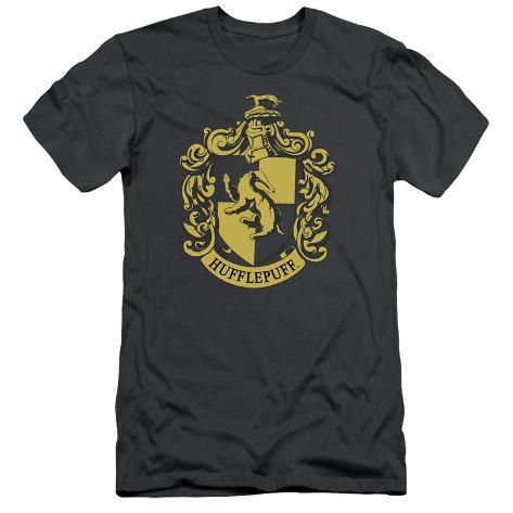 Harry Potter- Hufflepuff Crest (Premium) T-Shirt