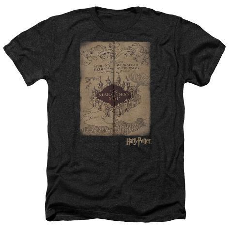 Harry Potter- Marauder's Map Hogwarts T-Shirt