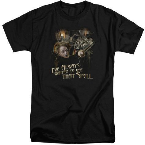 Harry Potter- Mcgonagall Piertotum Locomotor (Big & Tall) T-Shirt