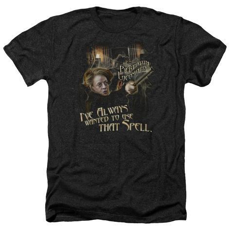 Harry Potter- Mcgonagall Piertotum Locomotor T-Shirt