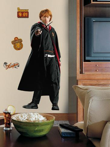 Harry Potter - Ron Peel & Stick Giant Wall Decal Wall Decal