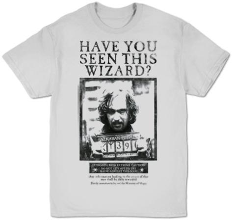 Harry Potter- Sirius Black Wanted Poster (tall) T-Shirt