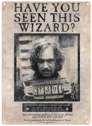 Harry Potter - Sirius Black Tin Sign