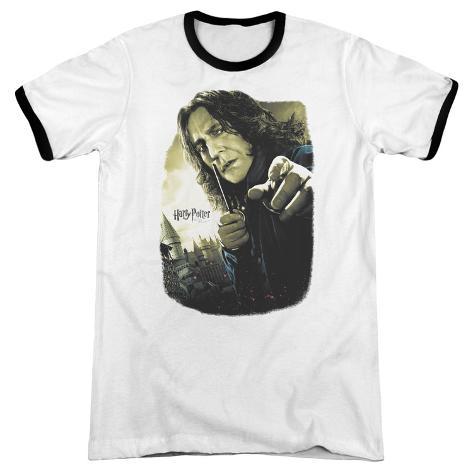 Harry Potter- Snape Poster Ringer T-Shirt
