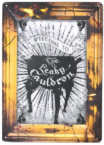 Harry Potter - The Leaky Cauldron Tin Sign