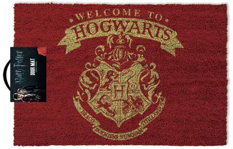 Harry Potter - Welcome To Hogwarts Door Mat Gadget