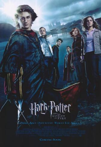 Harry Potter y el cáliz de fuego Lámina maestra