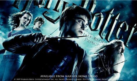 Harry Potter y el misterio del príncipe Harry Potter and the Half-Blood Prince Lámina maestra