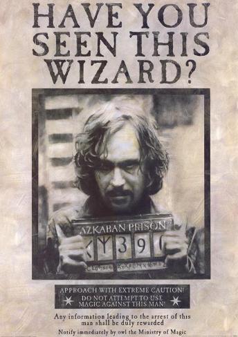 Harry Potter y el prisionero de Azkaban Lámina maestra