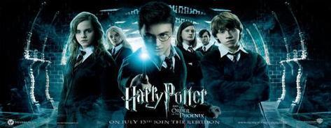 Harry Potter y la Orden del Fénix Póster
