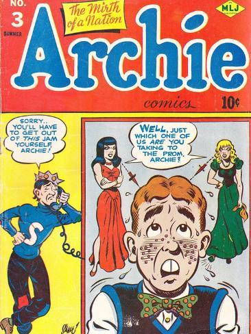 Archie Comics Retro: Archie Comic Book Cover No.3 (Aged) Poster