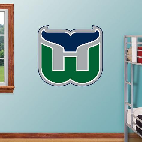 Hartford Whalers Classic Logo  Wall Decal