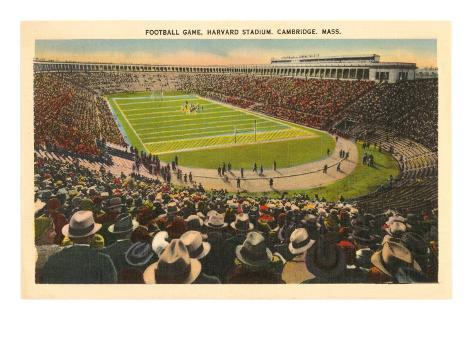 Harvard Stadium, Cambridge, Massachusetts Art Print