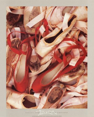 Satin Shoes Art Print
