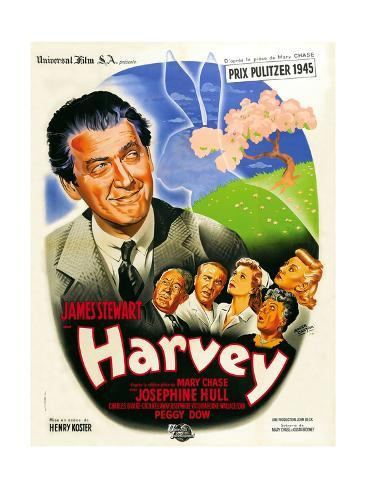 Harvey, French Poster Art, 1950 Giclee Print