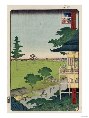 Sazai Hall, Five Hundred Raken (Temple) Giclee Print
