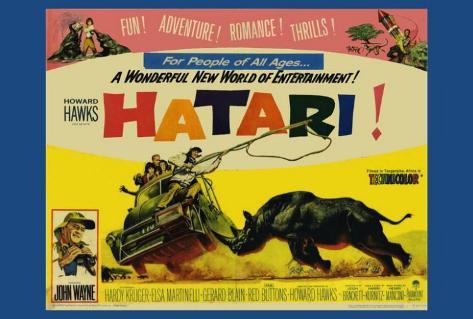 Hatari Pôster