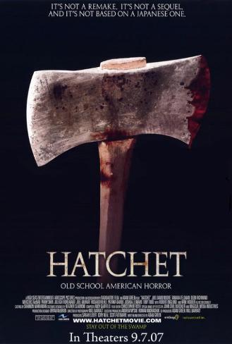 Hatchet Pôster