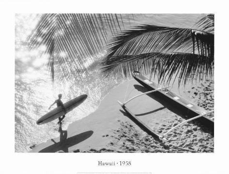 Hawaii, 1958 Framed Art Print
