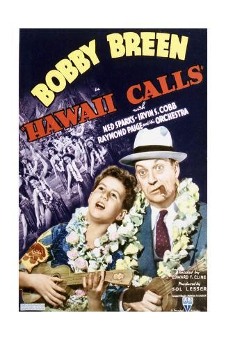 Hawaii Calls - Movie Poster Reproduction Art Print