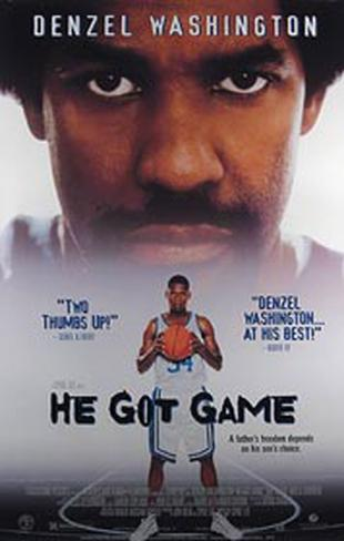 He Got Game Original Poster