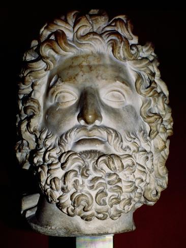 Head of Zeus Giclee Print