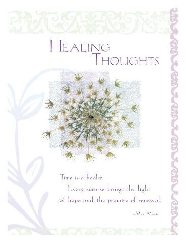Healing Thoughts Lámina giclée