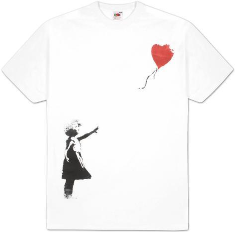 Heart Balloon Girl T-Shirt