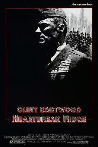 HEARTBREAK RIDGE Art Print