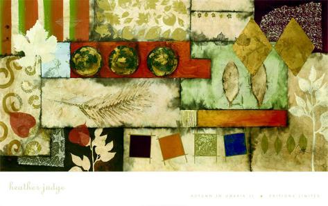 Autumn in Umbria II Art Print