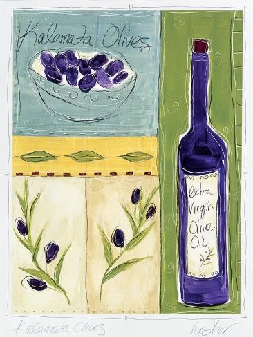 Kalamata Olive Giclee Print