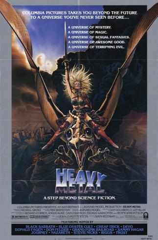 Heavy Metal Masterprint