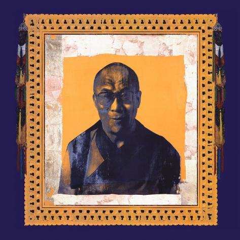 His Holiness the Dalai Lama I Stampa artistica