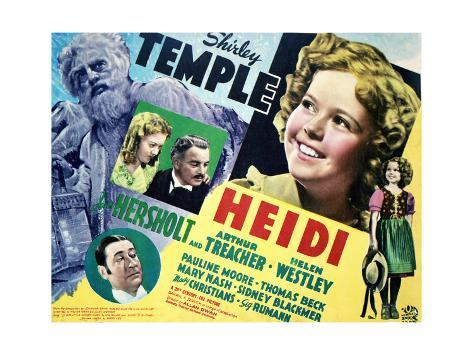 Heidi - Lobby Card Reproduction Art Print