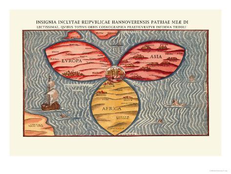 Insignia Inclytae Reipublicae Hannoverensis Patriae Meae Di Art Print