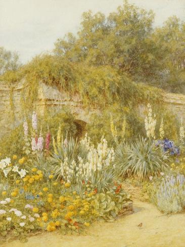 Gertrude Jekyll's Garden, Munstead Wood Lámina giclée