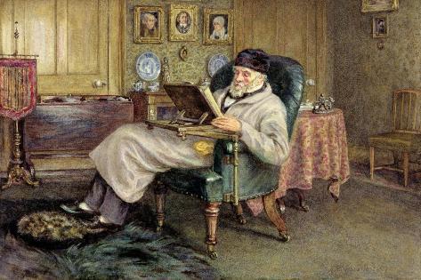 Thomas Carlyle (1795-1881) Stampa giclée