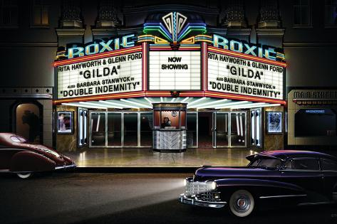 Roxie Picture Show Art Print